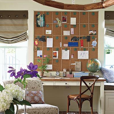 Family room calendar l inside senoia 39 s 2012 idea house for Southern living change of address